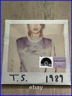 1989 Taylor Swift Clear and Pink vinyl from 2018 RSD Record Store Day brand new