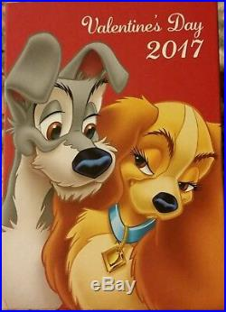 2017 Disney Limited Edition Lady And The Tramp Valentine's Day Magic Band NEW