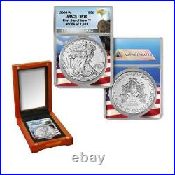 2020-W ANACS SP 70 First Day of Issue Limited Edition to 1933 Burnished ASE