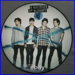 5 Seconds Of Summer 5SOS 2014 Record Store Day Picture Disc LP Vinyl RSD Rare