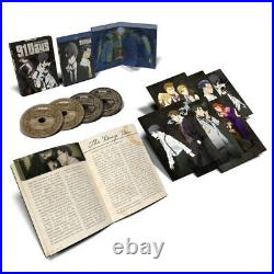 91 Days Limited Edition Anime Blu-Ray/DVD Collector Box Edition withCards OOP RARE