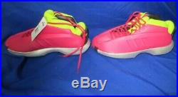 ADIDAS CRAZY 1 KOBE BRYANT VIVID BERRY LIMITED MOTHER'S DAY EDITION G98370 Sz 11