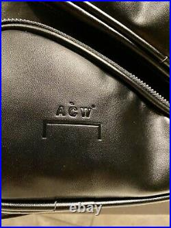 A Cold Wall(ACW) Designer Streetwear Leather Harness Backpack Ships Day Of Buy