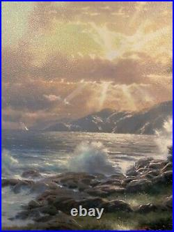A New Day Dawning by Thomas Kinkade Print on Canvas