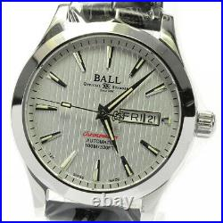 BALLWATCH Engineer II NM2026C Day date white Dial Automatic Men's Watch 626043