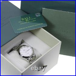 BALLWATCH Engineer II NM2026C-S5J-WH Day date white Dial Automatic Men's 619969