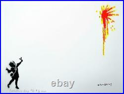 Banksy (After), Valentine's Day (2020) Limited Edition Stencil Spray Litho