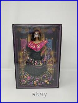 Barbie 2021 Dia De Los Muertos (Day of The Dead) Doll, Free Same Day Shipping