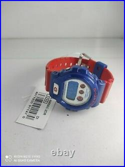 CASIO WATCH G-SHOCK RED/BLUE DW-6900AC-2 MEN'S Captain America Same Day SHIP