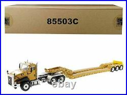 Cat Caterpillar CT660 Day Cab with XL 120 Low-Profile HDG Lowboy Trailer and