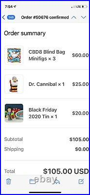 Citizen Brick Day 8 Cannibal Limited Edition Minifig Lego ORDER CONFIRMED