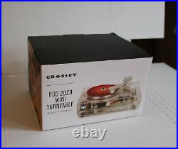 Crosley RSD 2020 Mini Turntable (Clear) Limited Edition Record Store Day 3