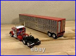Dcp 1/64 Kenworth W900A Day Cab Wilson Cattle Pot Semi Truck Farm Toy Koppes