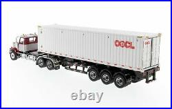 Diecast Masters 71064 Western Star 4900 SF Day Cab 40ft Container OOCL 150