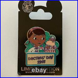 Doctors' Day 2015 Doc Mcstuffins Limited Edition 2000 Disney Pin 108458