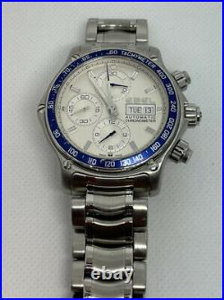 Ebel 1911 Discovery Chronograph 45mm Stainless Steel Day Date Automatic
