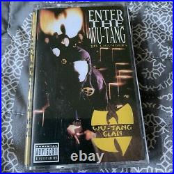 Enter The Wu-Tang (36 Chambers) RECORD STORE DAY Cassette NEVER PLAYED RARE