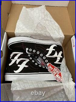 FOO FIGHTERS x Vans Sk8 HI Size 8.5 IN HAND SAME DAY SHIP LIMITED EDITION