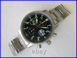 FORTIS Chronograph Porsche Day Date Cal. 7750 Automatic Men's Watch