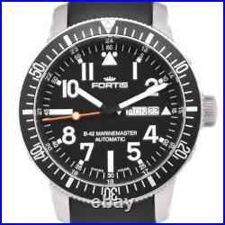 FORTIS Cosmo Note 623.10.158 Day date black Dial Automatic Men's Watch N#99552