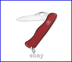 Father's Day Limited Edition Victorinox Sentinel Clip Red One Hand
