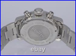 Fortis Flieger limited edition 500 pcs auto date day chrono SS bracelet watch