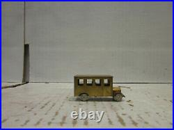 HOWELL DAY RAIL BUS HOn3 HO SCALE (BRASS)
