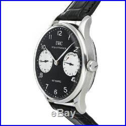 IWC Portugieser 7 Day Limited Edition Steel Auto 42mm Strap Mens Watch IW5000-01