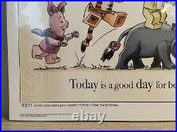 LEGO Winnie The Pooh VIP Sketch Today Is A Good Day LIMITED EDITION 251/1000