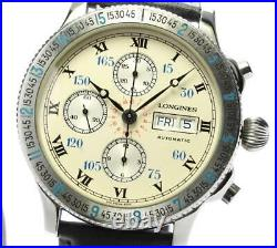 LONGINES Hour angle 674.5232 Day-Date Chronograph Automatic Men's 548007