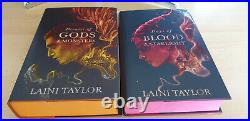 Laini Taylor Dreams of Gods Monsters Days of Blood Starlight SIGNED Illumicrate