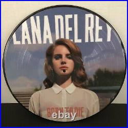 Lana Del Rey Picture Vinyl Born to Die Limited Edition RSD Record Store Day 2013