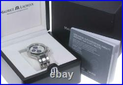 MAURICE LACROIX Icon AI6038 Chronograph day date Automatic Men's Watch 608261