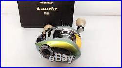 MEGABASS LAUDA 58R Right LIMITED EDITION RARE IL GREEN Fedex Priority 2day to US