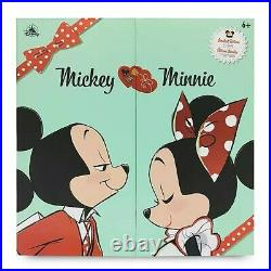 Mickey and Minnie Mouse Limited Edition Valentine's Day Doll Set IN HAND