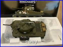 Minichamps 1/35 Sherman M4A3 60th Anniversary D-Day Diecast Tank Limited Edition