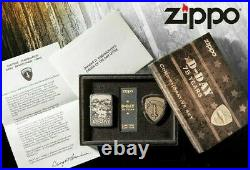 New ZIPPO Lighter D-Day Normandy 75th Anniversary 75 Years Limited Edition