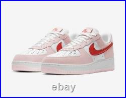 Nike Air Force 1 Low 07 QS Valentines Day Love Letter 7.5 (MENS) NEW IN-HAND