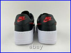 Nike Air Force 1 Sage Low Valentines Day Women's Sneakers Red Black CU4759 001