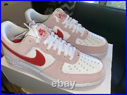 Nike Air Force 1 Valentines Day Love Letter Size 10 (IN HAND) DD3384-600