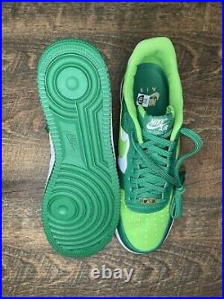 Nike Air Force One 1 St. Patrick's Day AF1 DD8458-300 Size 10.5 Deadstock