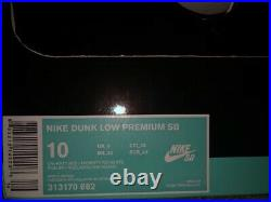 Nike SB Dunk Low'Valentines Day' (2014) Red White Size 10- 313170 662 VNDS OBO