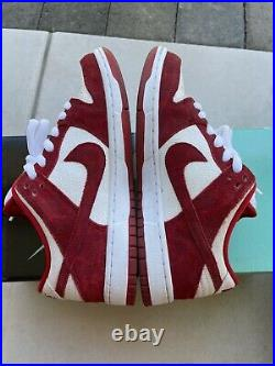 Nike SB Dunk Low'Valentines Day' (2014) Red White Size 6 313170 662 VNDS