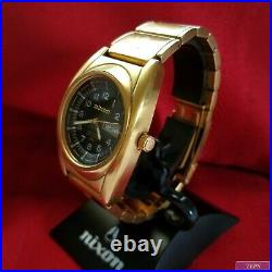 Nixon The Gold Don (Limited Edition #1624) 100M Japanese Movement Day & Date