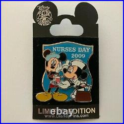 Nurses' Day 2009 Mickey and Minnie Mouse Limited Edition 4000 Disney Pin 69038