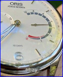 ORIS 110 LIMITED EDITION. RARE WATCH. 10 Day Power Reserve. Atelier. Full Set