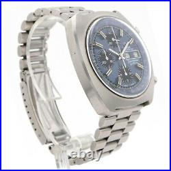 Omega F300Hz Speedsonic Chronograph Automatic Day Date 43mm Mens Watch with Papers