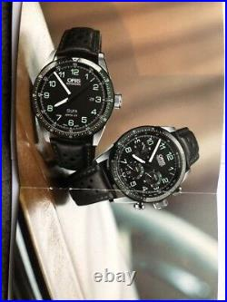 Oris Calobra Limited Edition Steel Day Drive Time. RRP $2750 SELLING in AUST