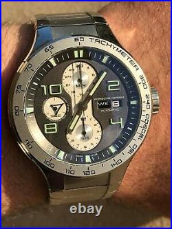 PORCHE DESIGN P6340 FLAT SIX CHRONOGRAPH AUTOMATIC DAY DATE MENS 44mm SWISS MADE