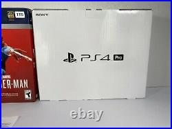 PS4 Pro Marvel's Spider-Man Limited Edition Box Only No Console Same Day Ship